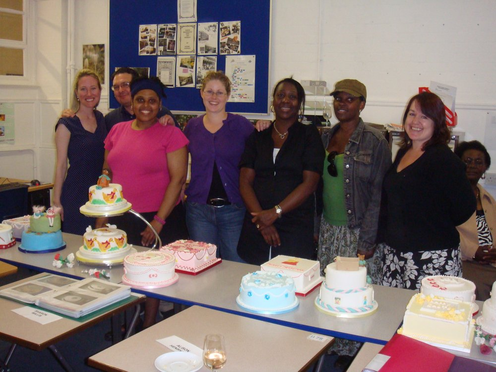 Local Cake Decorating And Sugarcraft Classes : Kensington and Chelsea cake and sugarcraft classes - Gina ...