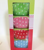 100 Spotty Fairy Cake Cases Selection Box Gina Cakes